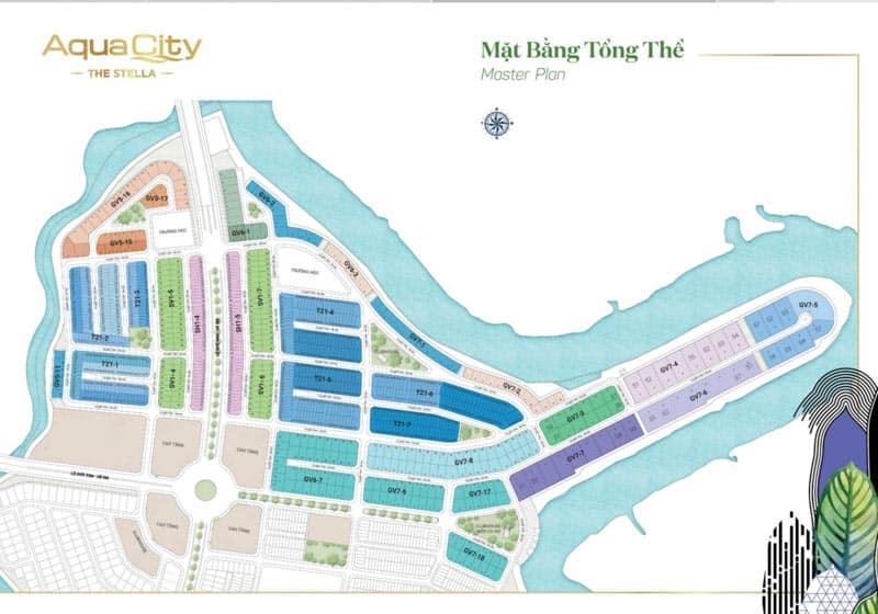 mat bang aqua city the stella