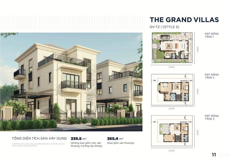 mau biet thu the grand villas 2