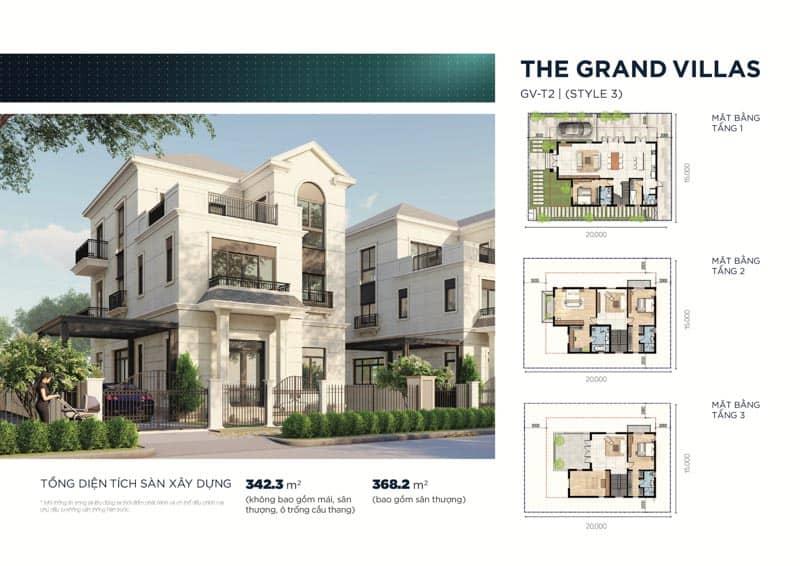mau biet thu the grand villas 3