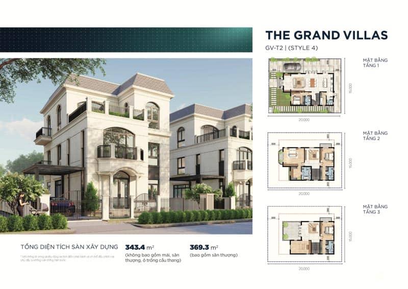 mau biet thu the grand villas 4
