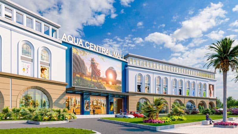 phoi canh aqua central mall