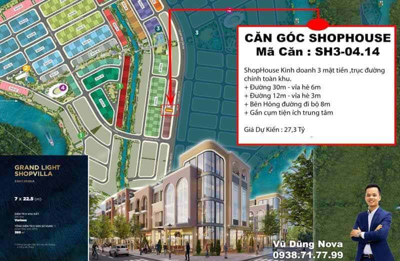shophouse aqua city 3 mat tien